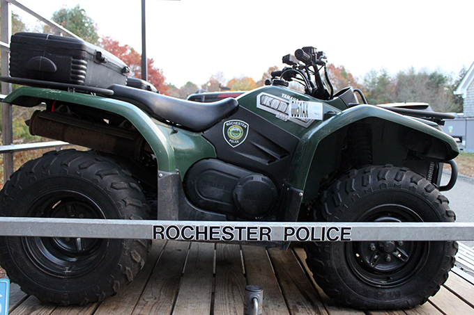 Rochester MA Police ATV Enforcement Unit
